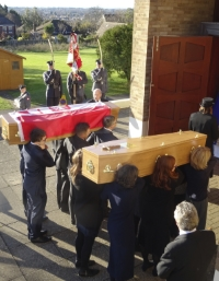 The Funeral of Franciszek & Patience Kornicki